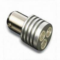 Buy cheap Auto LED Light with 3 Pieces High-power Bulb, 1156 Base, 12V/24V Voltage and 3W Output Power from wholesalers