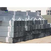 Buy cheap Carports Hot Rolled Galvanized Steel Square Tubing 6M / 12m Cut To Size Customized from wholesalers