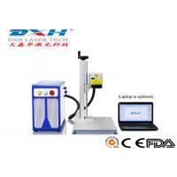 Buy cheap 20 Watt Portable Automatic Laser Marking Machine Desktop Laser Marker Split Type from wholesalers
