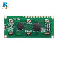 Buy cheap 5V Blue Parallel Interface 16X2 LCD Module Character Display from wholesalers