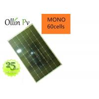Low - Light Performance Monocrystalline Silicon Cells / 280 Watt Solar Panel