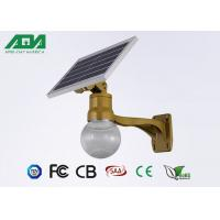 Moon Style solar powered led lights with battery , light sensor timing function Manufactures