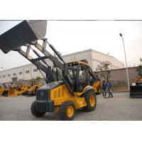 Buy cheap Professional Tractor Loader Backhoe With 4 In 1 Bucket / Hydraulic Hammer from wholesalers