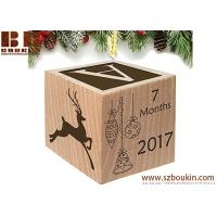 Buy cheap Baby's First Christmas Ornament 2018 Custom Engraved Wooden for Newborn 2 x 2 x 2 inches from wholesalers