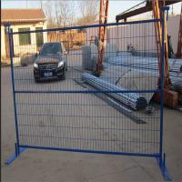 Buy cheap Powder coated temporary fence stands concrete for Canada from wholesalers