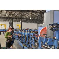 Low Alloy Tube Forming Machine For Square Tube Production 100 m / min
