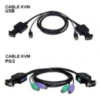 Buy cheap Cable KVM Switch, Cable Size Big, with USB or PS-2 Interface from wholesalers
