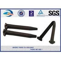 Buy cheap 8.8 Grade Railroad Track Spikes Track And Field Spikes Rail Fasteners from wholesalers