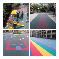 Buy cheap Synthetic Kindergarten Flooring Rubber Anti Fade For Children from wholesalers