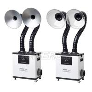 200W Salon Fume Extractor , Salon Air Purifier Less than 50 dB Noise Manufactures