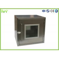 Wholesale Embedded SS Static Pass Box , Laboratory Pass Box 960*600*1450 Dimension from china suppliers