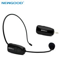 Buy cheap NEWGOOD 2.4Ggz Wireless Microphone Speech Headset Megaphone Mic For Teaching Meeting Tour Guide from wholesalers