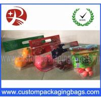 Buy cheap Cold Storage Fruit Packaging Bags Zipper Top CPP with Laminated from wholesalers