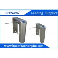 Uni-Direction / Bi-Direction Electrical Tripod Turnstile Gate With Card Reader Manufactures