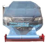 Buy cheap auto polyurethane masking plastic for painting 4*300m, 3m plastic auto paint masking protection film for cars, bagplasti from wholesalers