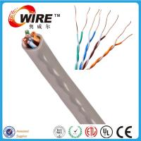 Buy cheap bulk cat5e ethernet cable Riser category cable from Shenzhen Owire cable factory from wholesalers