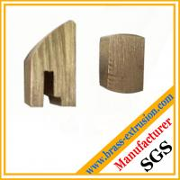 Buy cheap OEM manufacturer copper alloy Extruded brass profiles of lock cylinder extrusion profiles from wholesalers