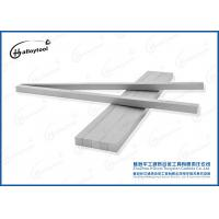 Buy cheap Custom Made Tungsten Carbide Strips Carbide Rectangle Bar For Cutting Knives Make Wood Cutter Tools from wholesalers