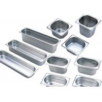 Buy cheap 201 Stainless Steel Kitchen Equipment , GN Pan Stainless Steel Gastronorm Pan from wholesalers