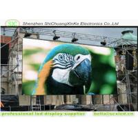 Buy cheap Outdoor P10 led screen video wall smd full color Hanging LED Large Display for large Plaza from wholesalers
