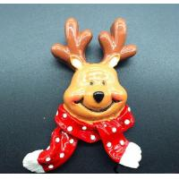 Buy cheap Winter elk Christmas tree refrigerator magnet,christmas decoration ornaments from wholesalers