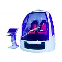 Buy cheap 9D Adventure Extreme Cinemas / 9D Vr Chair Space Capsule 2 Seats from wholesalers