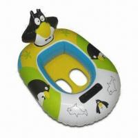 Buy cheap 0.25mm PVC Inflatable Boat for Babies, with Turtle Head, Customized Colors and Sizes are Accepted from wholesalers