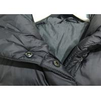Buy cheap Long Slim Padded Womens Winter Jackets And Coats Black Lightweight Warm Outwear from wholesalers