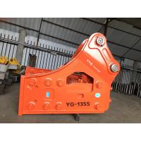 Wholesale Fanrastic Efficiency Hydraulic Concrete Breaker , Great Power Hydraulic Jack Hammer For Backhoe from china suppliers