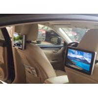 Buy cheap 10.1 Inch HD Dual Core Taxi Digital Signage , Car Headrest Digital Advertising Screens from wholesalers