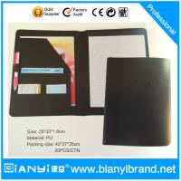 Buy cheap Hot Sale PU Presentation Folder with Pocket from wholesalers