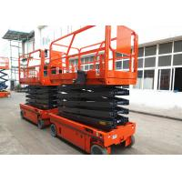 Buy cheap Manganese Steel Self Propelled Aerial Work Platform Auto Brake System product