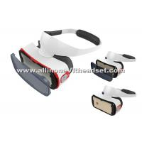 Portable Mobile Virtual Reality Headset , Adjustable Focal Android VR Box Manufactures