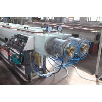 Buy cheap Large Diameter Corrugated HDPE PVC Pipe Extrusion Line Polyethylene from wholesalers