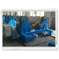 Self-aligned Pipe Turning Rolls Bed Tank Pipe Vessel Seam Welding , 80T