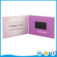 Buy cheap 2.4 To 10 Inch Video Mailer Card A4 / A5 Mp3 / Mp4 Customize Lcd Screen from wholesalers
