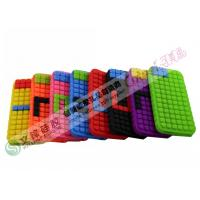 Wholesale Creative Blocks Design iPhone 5 Silicone Cases with Mini DIY Puzzle from china suppliers