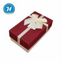 Wholesale Red Decorative Hard Cardboard Gift Boxes Customized Shape Unique Design from china suppliers