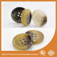 Wholesale OEM Round clear 4 hole plastic button for garment accessories Eco-friendly from china suppliers