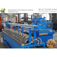 Continuous Slow Rebound Earplug / Earbuds Manufacturing Machine 0.01 - 99.9 S Manufactures