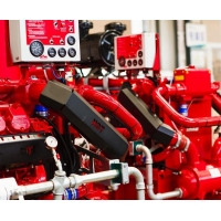 Buy cheap FM Approved IF05ATH-F Fire Pump Diesel Engine 74KW Power De Maas from wholesalers
