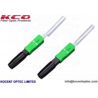 Buy cheap SC/APC SOC Fusion Splice-on Fast Connector G652D G657A Hot Melt Fied Assembly 0.3dB from wholesalers
