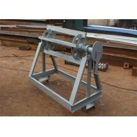 Quality Manual Operate Simple Sheet Metal Decoiler For Light Coils Width Customized for sale