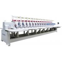 Cording + Sequin T shirt / cloth Embroidery Machine of multi head Manufactures