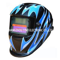 Buy cheap CE Welding Helmets Blue Flame Design with Auto darkening Filter from wholesalers