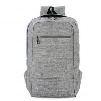 Buy cheap Environmental Polyester Laptop Bag Backpack With Laptop Sleeve 28*43*12 Cm from wholesalers