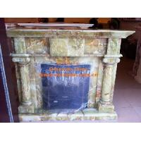 Buy cheap Professional Onyx Marble Fireplace Mantel from wholesalers