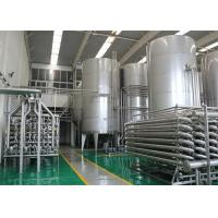Bottled Complete Pasteurized Milk Processing Line for 5000l Per Hour Manufactures