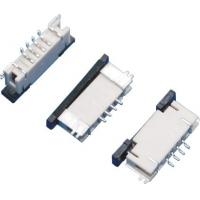 Buy cheap 1.0mm Pitch FPC Connector 4Pins Board to Board Connector Under Lock SMT Type from wholesalers