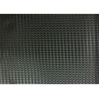 Buy cheap Black 100% Polyester Coated Fabric Waterproof SGS Certificate from wholesalers